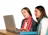 Studenten, die Überarbeitung