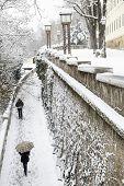 Strossmayer walkway, Zagreb, Croatia