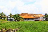 Houses with tiled roofs, Galle Fort