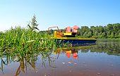 Catamaran By The River