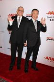 LOS ANGELES - FEB 2:  Brad Altman Takei, George Takei at the AARP 14th Annual Movies For Grownups Awards Gala at a Beverly Wilshire Hotel on February 2, 2015 in Beverly Hills, CA