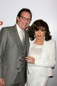 LOS ANGELES - FEB 2:  Percy Gibson, Joan Collins at the AARP 14th Annual Movies For Grownups Awards Gala at a Beverly Wilshire Hotel on February 2, 2015 in Beverly Hills, CA