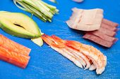 Japanese Seafood For Sushi