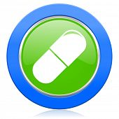 drugs icon medical sign