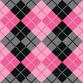 Argyle Design in Pink and Black