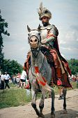 Armored Nobleman on a horse