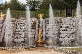 Fountains In The Park Of Versailles Palace