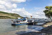 Passenger Ferry Waits For Passengers