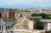 pic of emanuele  - Rome aerial view from Vittorio Emanuele monument on May 29 2014 Rome Italy - JPG