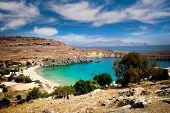 Lindos bay, Rhodes island, Greece