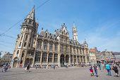 Ghent Town In Belgium