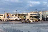 Passengers Airplane Decking
