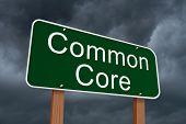 Common Core Sign