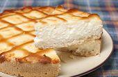 Cheesecake With Cream Cheese.