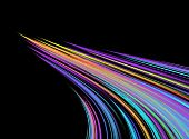 Colorful Speed Of Light