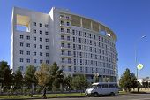 Ashgabat, Turkmenistan - October 23, 2014. International Centre Of Trauma