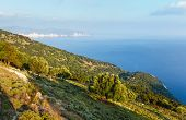Summer Morning Sea View (Greece,  Kefalonia).