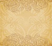 Vintage background with ornament.
