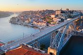 Porto Bridge Panorama