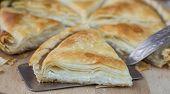 picture of phyllo dough  - Tiropita  - JPG