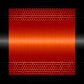 orange steel metal texture with holes metal background