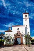 foto of senora  - Catholic Church of Nuestra Senora del Rosario  - JPG
