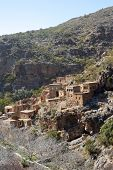 picture of oman  - The ghost town of Wadi Habib in the Jebel Akhdar Mountains of the Sultanate of Oman - JPG