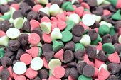 picture of nipples  - mix flavored nipple chips for background uses - JPG