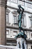 foto of perseus  - Statue of perseus with head in hand - JPG