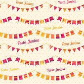 stock photo of traditional  - Festa Junina illustration  - JPG