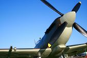 picture of spitfire  - supermarine spitfire of the royal air force  - JPG