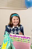Teen Celebrating Birthday