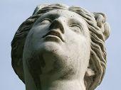 Retrato de uma mulher de pedra