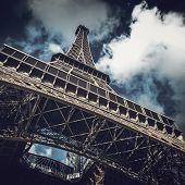 Tour Eiffel (Eiffel tower) in Paris, France, Europe poster