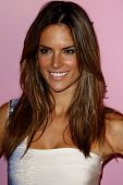 LOS ANGELES - MAR 25: Alessandra Ambrosio arrives as Victoria's Secret celebrates the 15th anniversary of the Swim Catalogue at Trousdale in Los Angeles, California on March 25, 2010