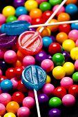 Bubblegum and Lollipops Up Close