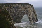 Cliffs Of Etretat France