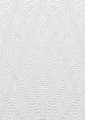Guilloche Background. A Simple Pattern With Wavy Lines. Moire Ornament. Monochrome Guilloche Texture poster