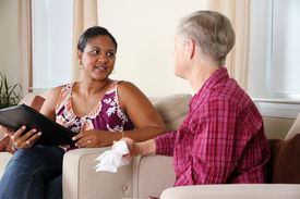 picture of counseling  - A person going through their counseling session - JPG