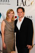 NEW YORK-MAY 17: Founding partner and co-owner of DiGa, Tony DiSanto and his wife attend the IAC And