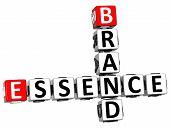 3D Brand Essence Crossword poster