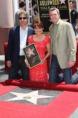 LOS ANGELES - MAY 22: Ray Romano, Patricia Heaton, Neil Flynn at a ceremony honoring Patricia Heaton