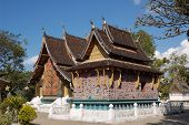 Oldest Temple Of Luangprabang, Laos