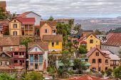 Antananarivo Cityscape, Tana, Capital Of Madagascar, French Name Tananarive And Short Name Tana, Poo poster