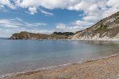 Lulworth Cove In Dorset poster