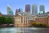 Binnenhof Palace - Dutch Parlament in the Hague (Den Haag). Netherlands (Holland)