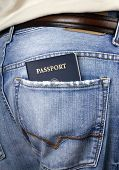 American Passport In Back Pocket