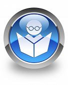 Icono brillante de E-learning
