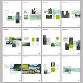 Creative Brochure Templates With Colorful Gradient Design Geometric Trending Elements. Covers Design poster