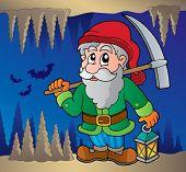 Mine theme image 2 - vector illustration.
